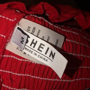 SHEIN Tops - Red tube top